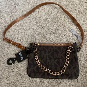 NWT Michael Kors signature belt bag